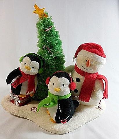 Hallmark Very Merry Trio Musical Plush (Hallmark Musical Snowman)