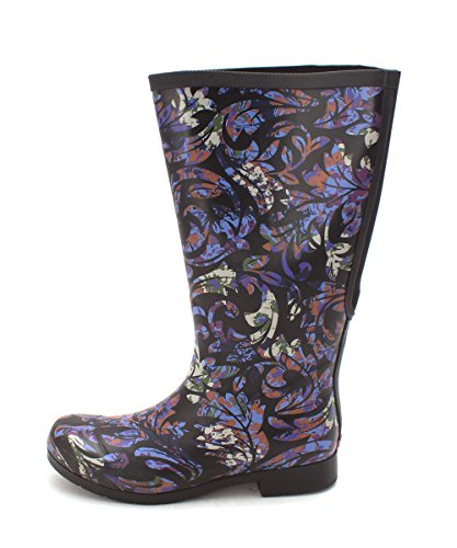 Womens Chooka Cold Rubber Knee Weather Flex Boots Elastic fit High Closed Toe Multicolor dwBpOwx