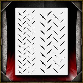 Diamond Pattern 2 Airbrush Stencil Template Airsick