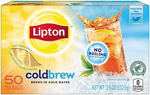 Lipton Cold Brew Black Unsweetened product image
