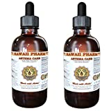 Asthma Care Liquid Extract, Licorice (Glycyrrhiza Glabra) Root, Red Ginseng (Panax Ginseng) Root, Ginger (Zingiber Officinale) Root Tincture Supplement 2x4 oz