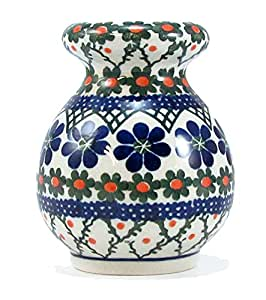 Polish Pottery Cheese Shaker From Boleslawiec Poland Traditional Stoneware Pattern T854