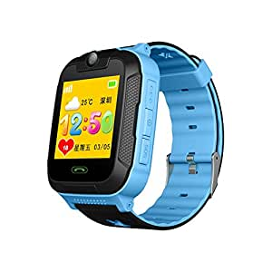 Bulary Children Smartwatch Phone with GPS 3G Smart Touch Screen Card Insertion Call Watch Pulsera Pulsera para Niñas Niños