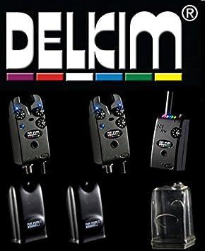 2 indicador de picada Delkim Plus TXi + receptor RX Plus Pro ...