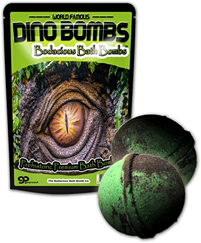 Kids Dino Bombs Dinosaur Bath Bombs - Fun XL Bathbombs for Kids...