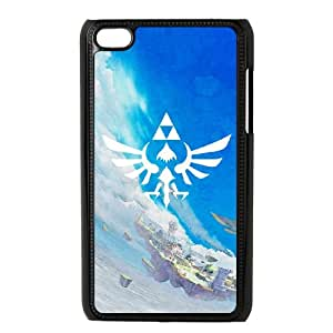 The Legend of Zelda iPod Touch 4 Case Black Delicate gift JIS_380829