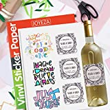 JOYEZA Premium Printable Vinyl Sticker Paper for