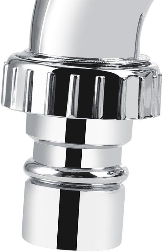 Size : Shutter Handle DEWIN Faucet Grifo de Lavabo con Grifo Doble y Mango G1 // 2 Grifo de la Lavadora de pl/ástico ABS