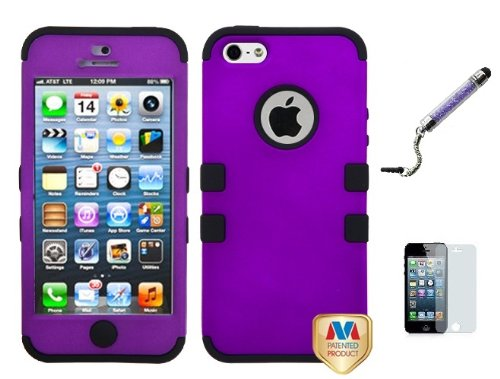 Apple Iphone 5 Dual Layer Hybrid heavy duty Phone Protector