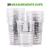 Disposable Measuring Cups for Resin - Pack of 20