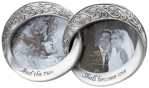 Fetco Home Décor Melissa Frame, Double  - Pewter Wedding Rings Shopping Results