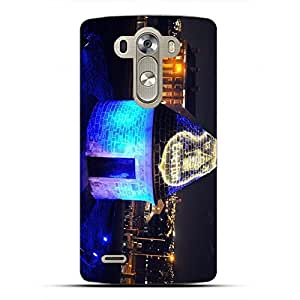 Personal Design FC Real Madrid FC Team Logo Phone Case Cover For LG G4 3D Plastic Phone Case