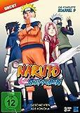 Naruto Shippuden, Staffel 9: Geschichten aus Konoha (Episoden 396-416, uncut) [3 DVDs]