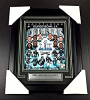 Philadelphia Eagles Sb Lii Champions Framed 8x10 Team Photo Zach Ertz Nick Foles