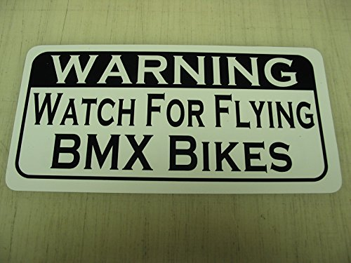 WATCH FOR FLYING BMX BIKES Vintage Style Metal - Styles Bmx