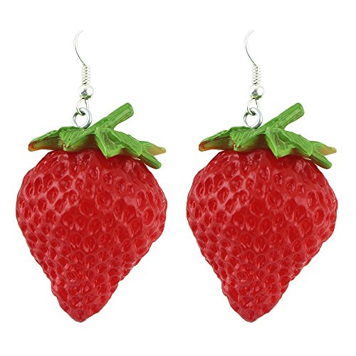 Feelontop Fashion Strawberry Earrings Jewelry product image