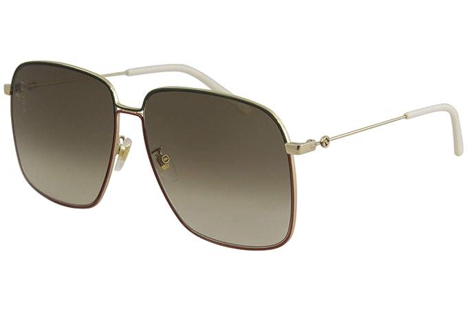Gucci GG0394S-003 Gafas de sol, Dorado, 61 para Mujer ...