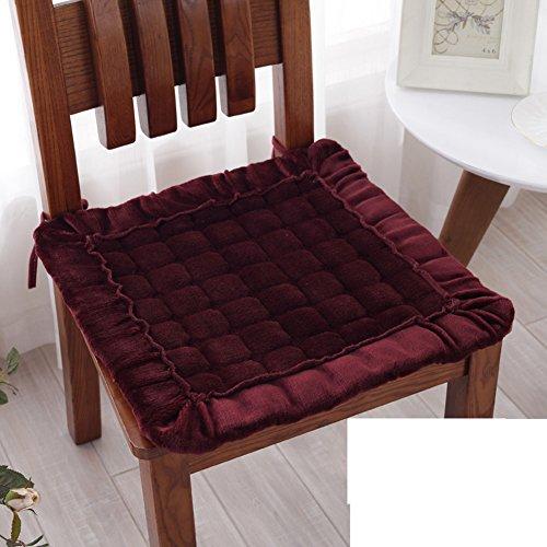 Simple non-slip plush Chair pad at home/Fabric seat cushion / dining chair cushion-B 50x50cm(20x20inch)