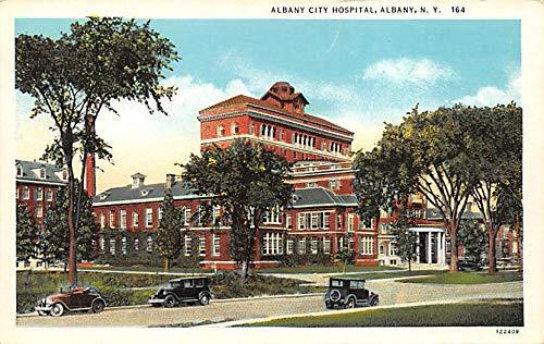 Albany City Hospital, Albany, NY, USA Albany City Albany, NY, USA Writing on Back