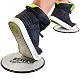 Elite-Core-Exercise-Sliders-2-Gliding-Discs-Incredible-for-all-Levels-of-Fitness-Cardio-Strength-Toning-Stability-and-Core-Abdominals-Dual-Sided-to-Work-on-Carpet-or-Hard-Floors-Silver