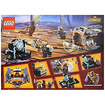 LEGO Marvel Super Heroes Avengers: Infinity War Thor's Weapon Quest 76102 Building Kit (223 Pieces): Toys & Games
