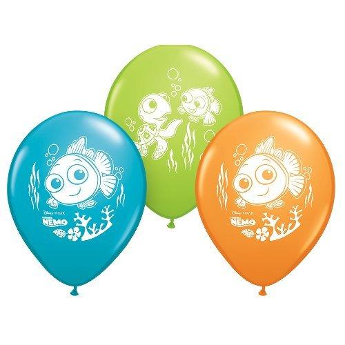 Pioneer Balloon Company 6 Count Finding Nemo Latex Balloons, 12