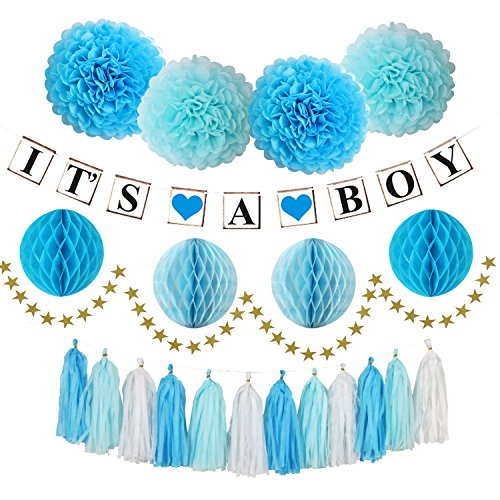 Boy Baby Shower Decorations with IT'S A BOY