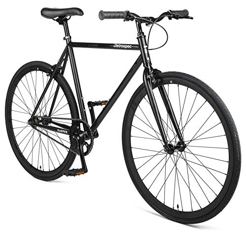 Retrospec Harper Single-Speed Fixed Gear Urban Commuter - Agile Track Mens