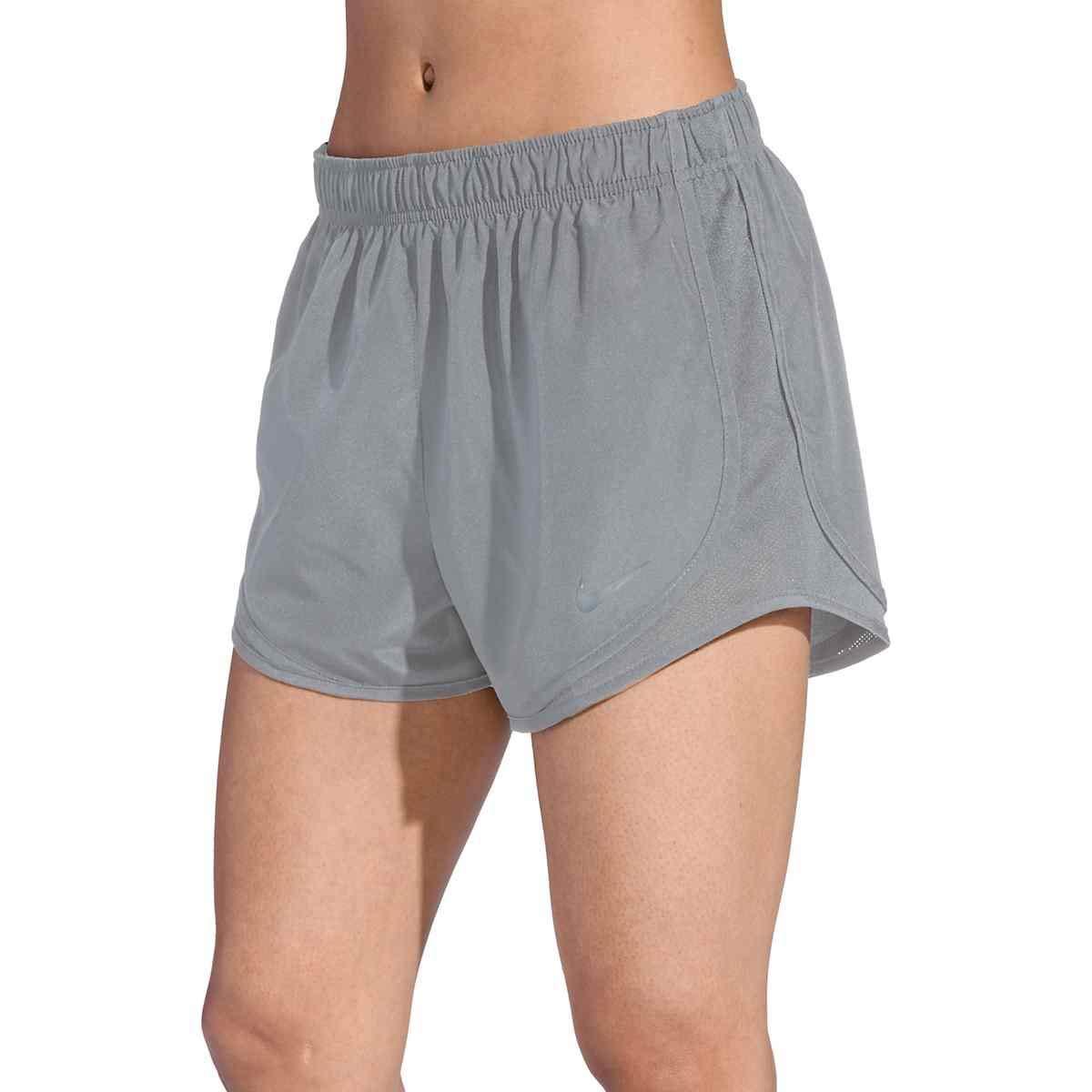 Nike Women's Tempo Running Shorts (Gunsmoke/Gunsmoke/Gunsmoke/Wolf Grey, XS