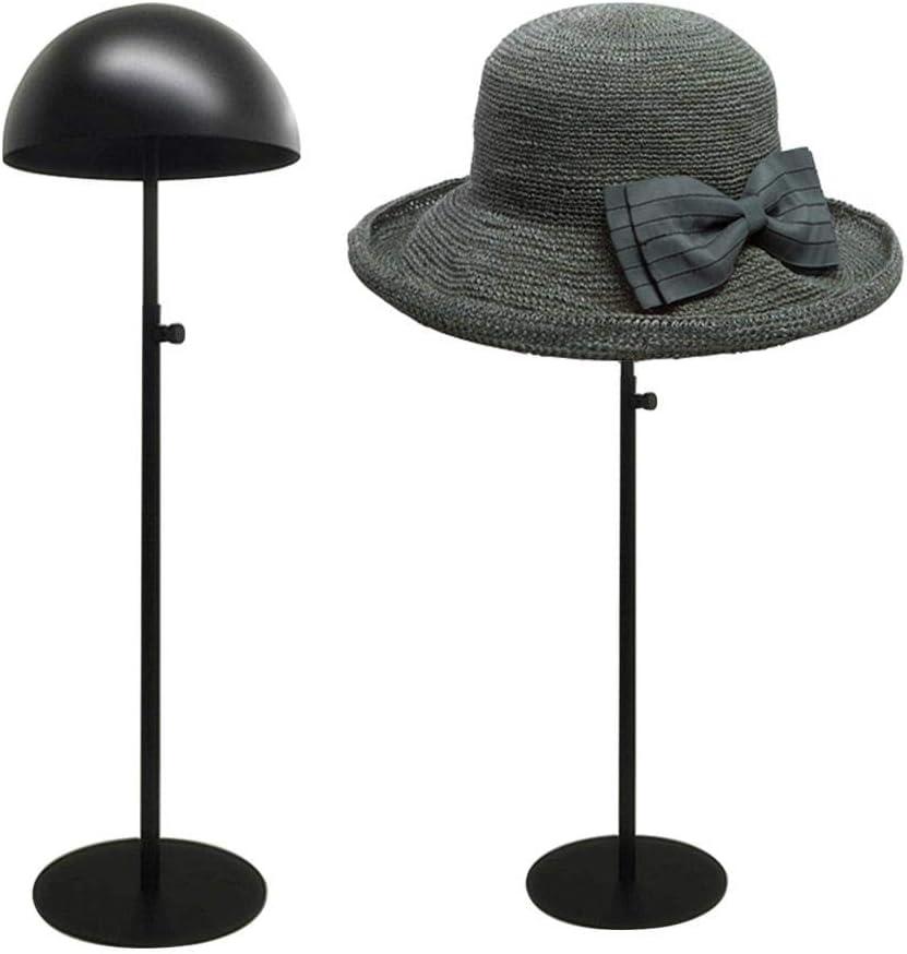 Rameng Supports en Plastique Pliables pour Perruques Stable Chapeau Porte Perruques Plastique