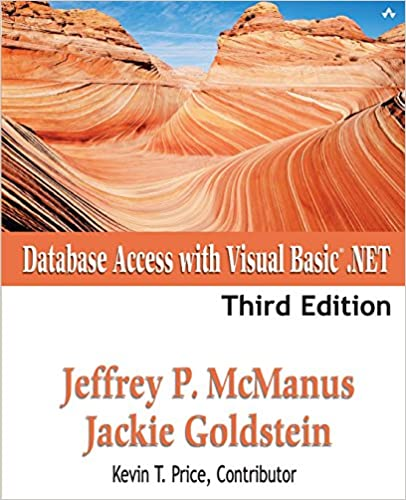 Database Access with Visual Basic  NET (3rd Edition): Jeffrey P