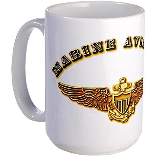 11 ounce USMC - Aviator - 2 Large Mug Large Mug - Standard 12.95 -