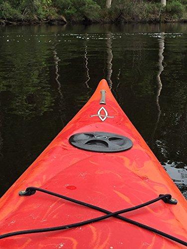 amazon com home comforts canvas print kayaking adventure paddle