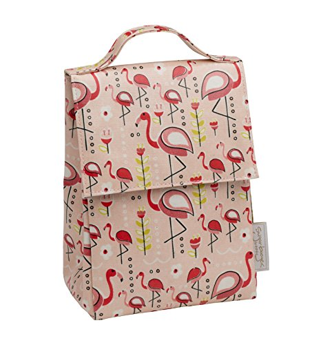 Sugarbooger Classic Lunch Sack, Flamingo (Classic Lunch)
