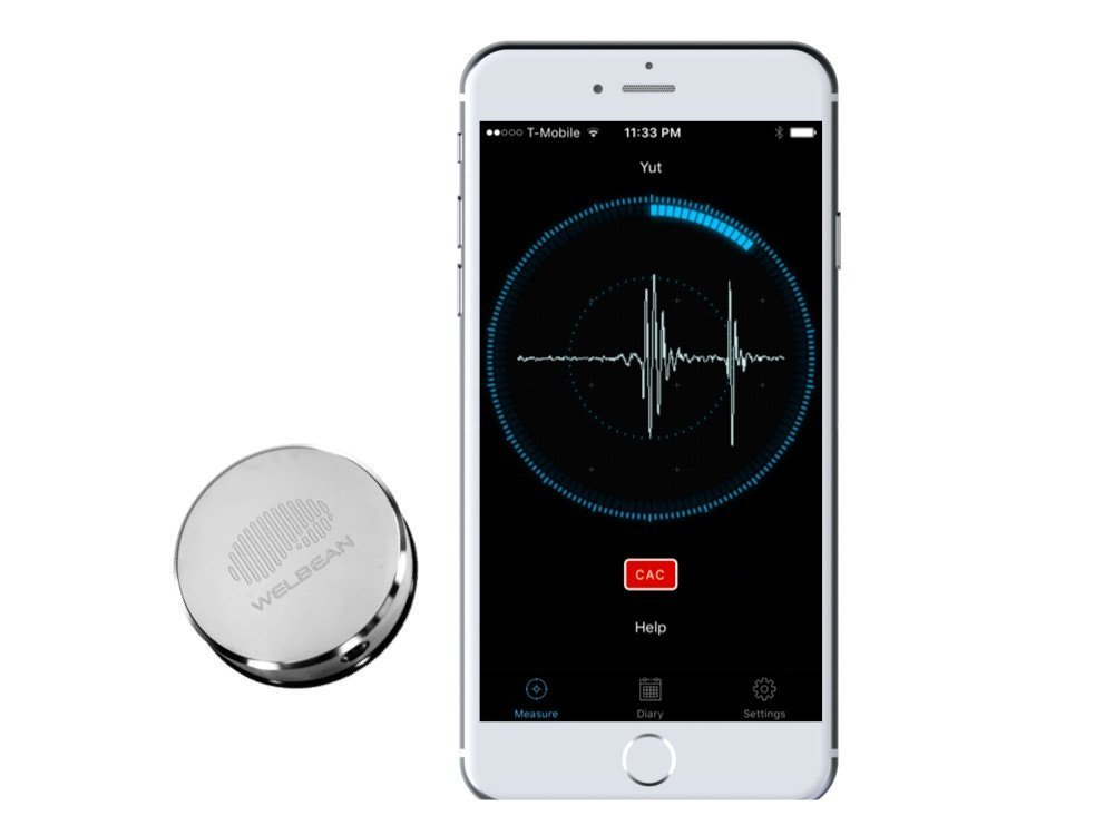 Welbean Heartscope Health Tracking System - Smart Activity Performance Monitor for Heart