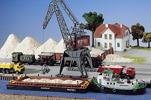 HO Scale Bulk Loading Barge