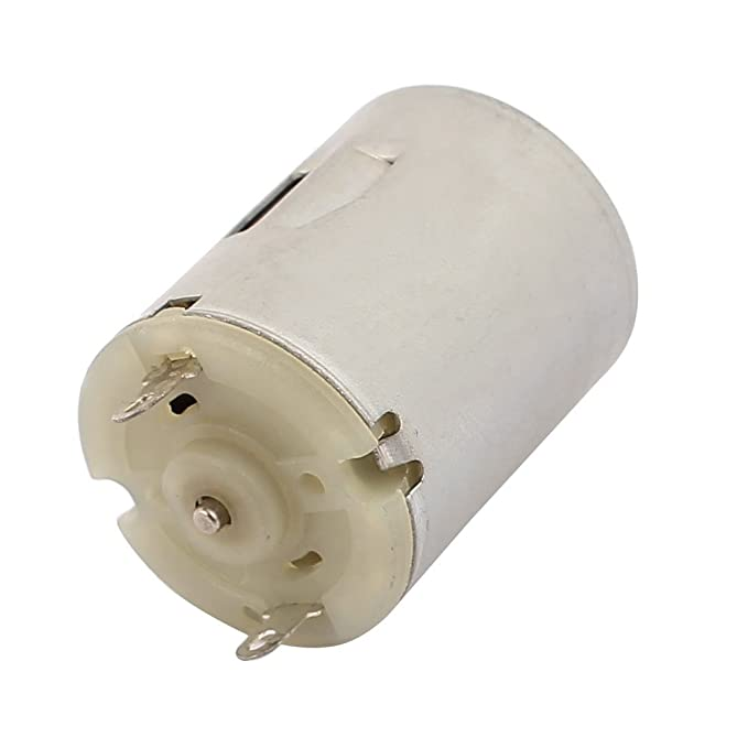 DealMux DC 3-9V 12500RPM alta velocidade Cylinder Micro DC Motor para Toy elétrica - - Amazon.com