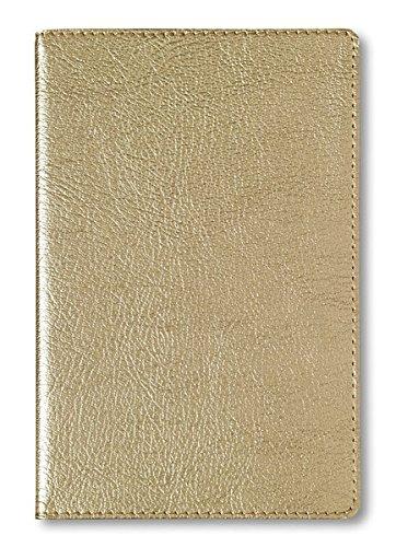 Adressbuch Glamour Gold - Notizbuch / Taschenplaner (11 x 17) - 112 Seiten