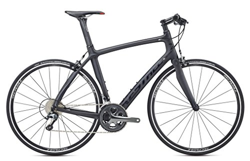 Kestrel RT-1000 Flat Bar Shimano Tiagra Fitness Road Bike, Small/50 cm, Satin Carbon/gloss Black Advanced Sports International - Bike