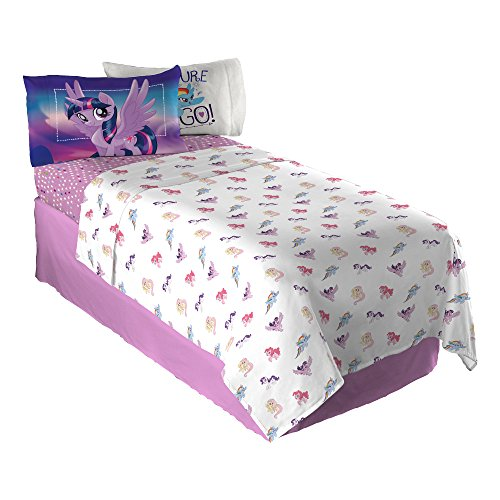 Hasbro My My Little Pony Twinkle Adventure Sheet Set, Full (My Little Pony Sheets Full)