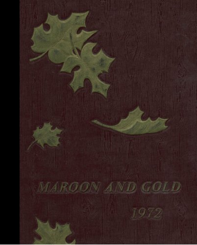 (Reprint) 1972 Yearbook: Glassboro High School, Glassboro, New ()