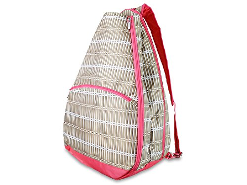 all-for-color-khaki-rattan-tennis-backpack
