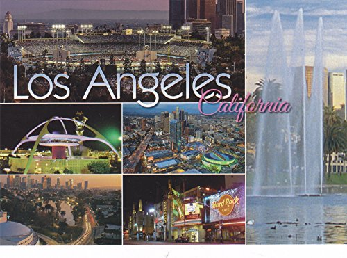 LOS ANGELES Much To See CALIFORNIA Multi-View T- 026/030 POSTCARD from HibiscusExpress