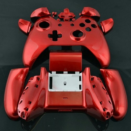 - ModFreakz® Shell Kit Gloss Red For Xbox One Model 1537 Controllers
