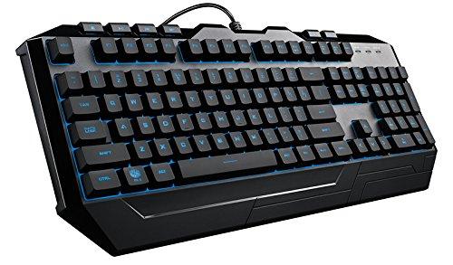 Cooler Master Devastator 3 Gaming Keyboard & Mouse Combo, 7 Color Rainbow LED Backlit, Media Keys, 4 DPI Level