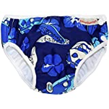 Imse Vimse Swim Diaper (28-37 pounds - Super Large, Blue Hawaii)
