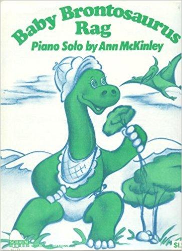 5 Intermediate Piano Solos - Individual Sheet Music: Serenade, Alexander's Ragtime Band, Baby Brontaurus Rag, Fanfare AND Runaround Rock