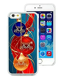 Personalization iPhone 6 Case,Merry Christmas White iPhone 6 4.7 Inch TPU Case 37