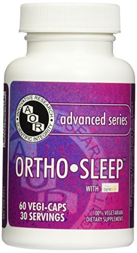 Advanced Orthomolecular Research AOR Ortho Sleep Capsules, 60 Count by Advanced Orthomolecular Research AOR