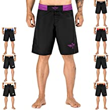Elite Sports New Item Black Jack Series Fight Shorts - UFC, MMA, BJJ, Muay Thai, WOD, No-Gi, Kickboxing, Boxing Shorts